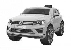 Auto na Akumulator Volkswagen Touareg Srebrny Lakier #C1