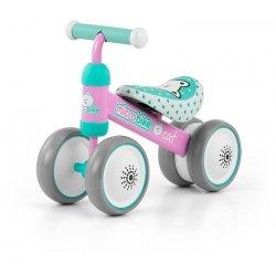 Rowerek biegowy Micro Bike Cat Róż-Mięta #B1
