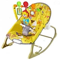 Leżaczek Little Savanna Yellow #D1
