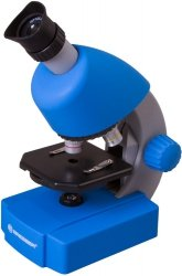 Mikroskop Bresser Junior 40x-640x, niebieski