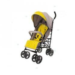 Wózek spacerowy Parasolka Smart Pro Beżowo-Żółty #D1