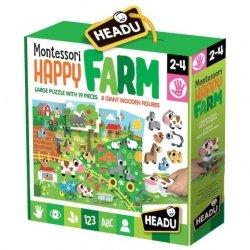 Montessori Puzzle Wesoła Farma od 2 do 4 lat