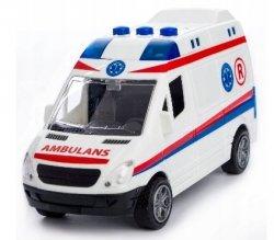 Autko Ambulans Światło Dźwięk