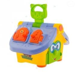 Edukacyjna Zabawka Mądry Domek #D1
