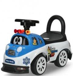 Jeździk Pojazd Tipi Police Policja Biało Niebieski #B1