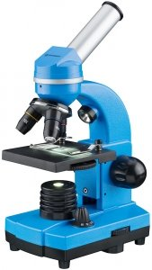 MikroskopBresser Junior Biolux SEL 40–1600x, niebieski