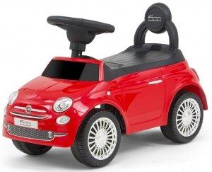 JEŹDZIK POJAZD FIAT 500 CZERWONY LICENCJONOWANY #B1