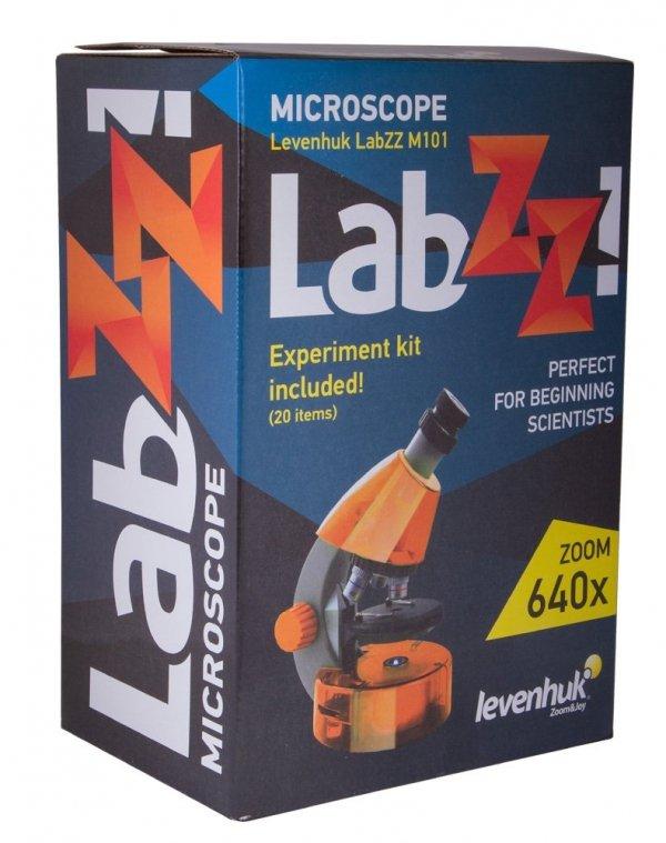 Mikroskop Levenhuk LabZZ M101 AzureLazur