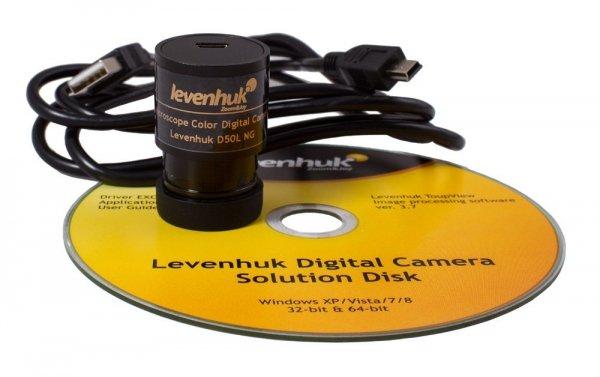 Lupa Levenhuk Zeno 900 z podświetleniem LED, 5x, 75 mm, metalowa