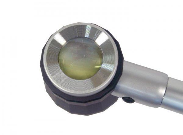 Lupa Levenhuk Zeno 100, 2,5/5x, 78/19 mm, metalowa