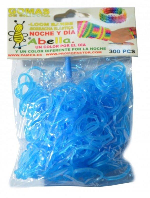 Gumki Neonowe Fluo!! 300 el.