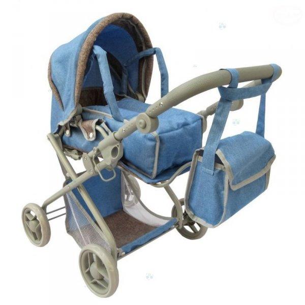 Dwufunkcyjny Wózek dla lalek Nosidełko Torba #D1