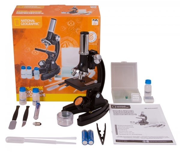 Mikroskop Bresser National Geographic 300–1200x