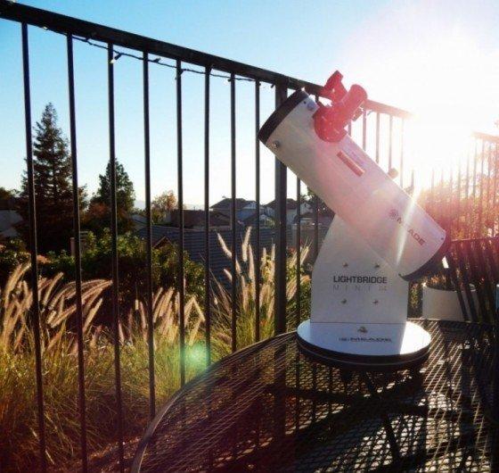 Teleskop Meade LightBridge Mini 114mm