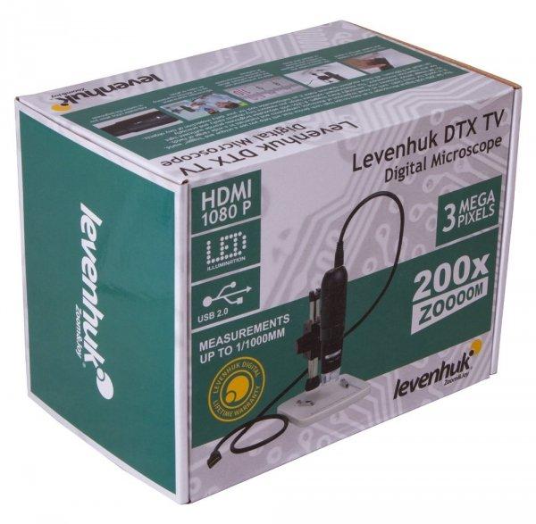 Mikroskop cyfrowy Levenhuk DTX TV