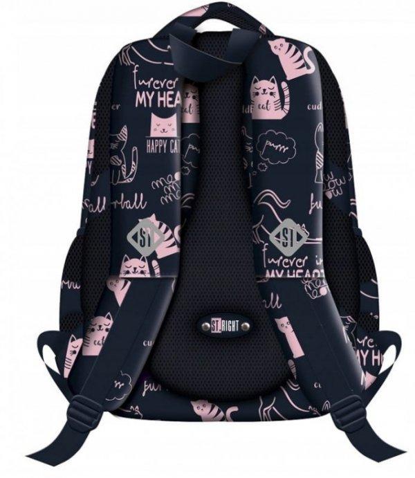 Plecak Młodzieżowy Kotki Bp-26 St.Right 2019