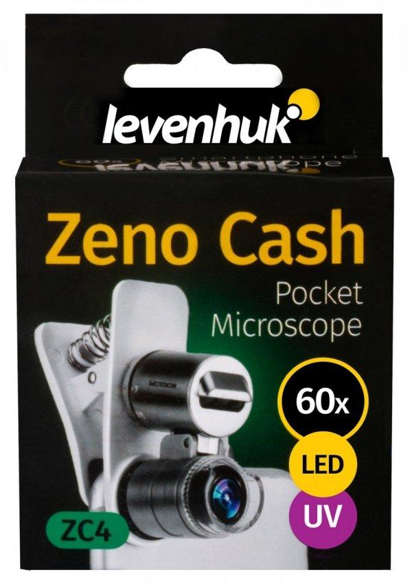 Mikroskop kieszonkowy Levenhuk Zeno Cash ZC4