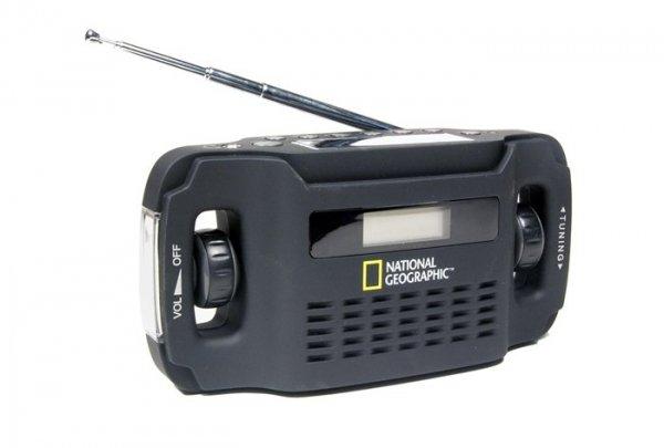 Radio z panelem słonecznym Bresser National Geographic