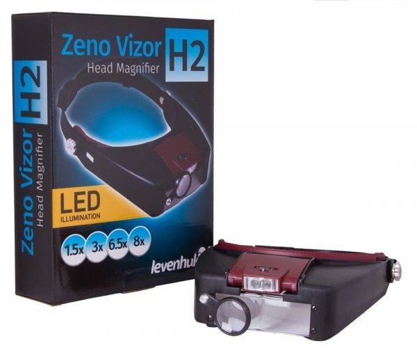 Lupa nagłowna Levenhuk Zeno Vizor H2