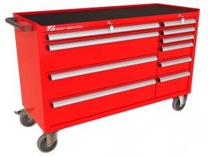 Wózek warsztatowy MEGA z 10 szufladami PM-218-20