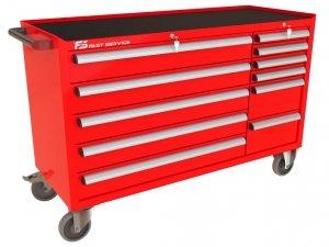 Wózek narzędziowy MEGA z 11 szufladami PM-215-17