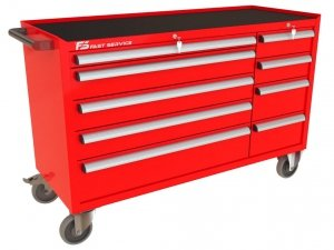 Wózek narzędziowy MEGA z 9 szufladami PM-221-23