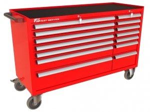 Wózek warsztatowy MEGA z 14 szufladami PM-219-19