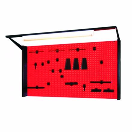Tablica na narzędzia z samą kratownicą z oświetleniem N-4-11-04