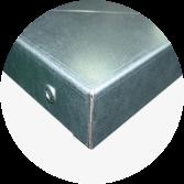 Blat warsztatowy blacha ocynk 1650x600x40 mm