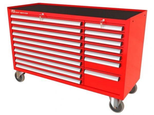 Wózek narzędziowy MEGA z 17 szufladami PM-210-19