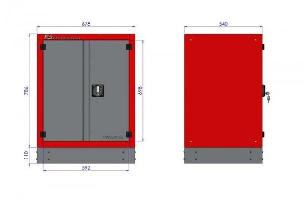 Stół warsztatowy – T-40-14-40-01