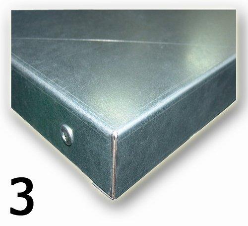N-3-01-03 STÓŁ WARSZTATOWY PODSTAWOWY (SZER. BLATU 1400 mm)  + BLACHA OCYNK