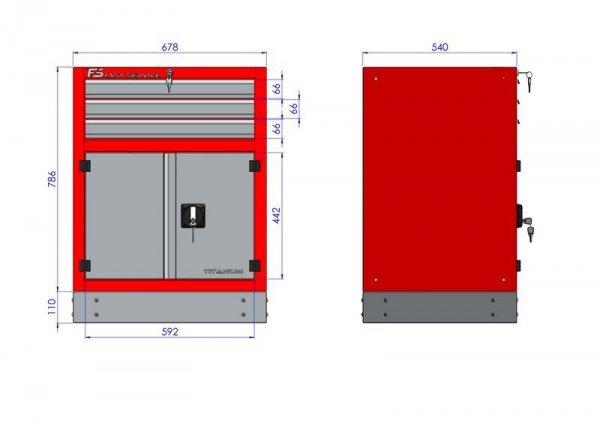 Stół warsztatowy – T-30-30-30-01