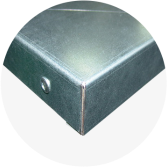 Blat warsztatowy blacha ocynk 1960x600x40 mm