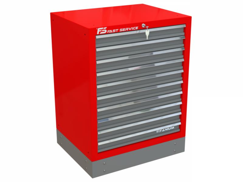 Szafka warsztatowa z 10 szufladami – T-10   - dziesięć szuflad