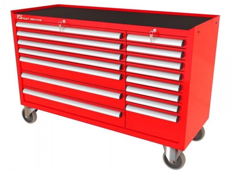 Wózek warsztatowy MEGA z 15 szufladami PM-213-16