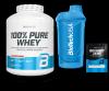 BioTechUSA 100% Pure Whey 2270g Truskawka Gratisy