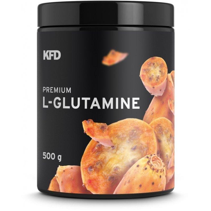 KFD Premium L- Glutamine 500g smak kaktus
