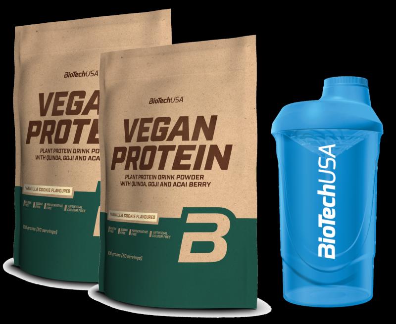BioTech Vegan Protein  smak waniliowy