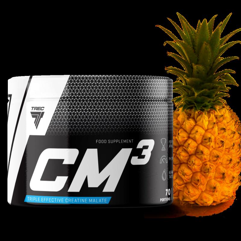 Kreatyna Trec Nutrition Cm3 250g smak ananasowa