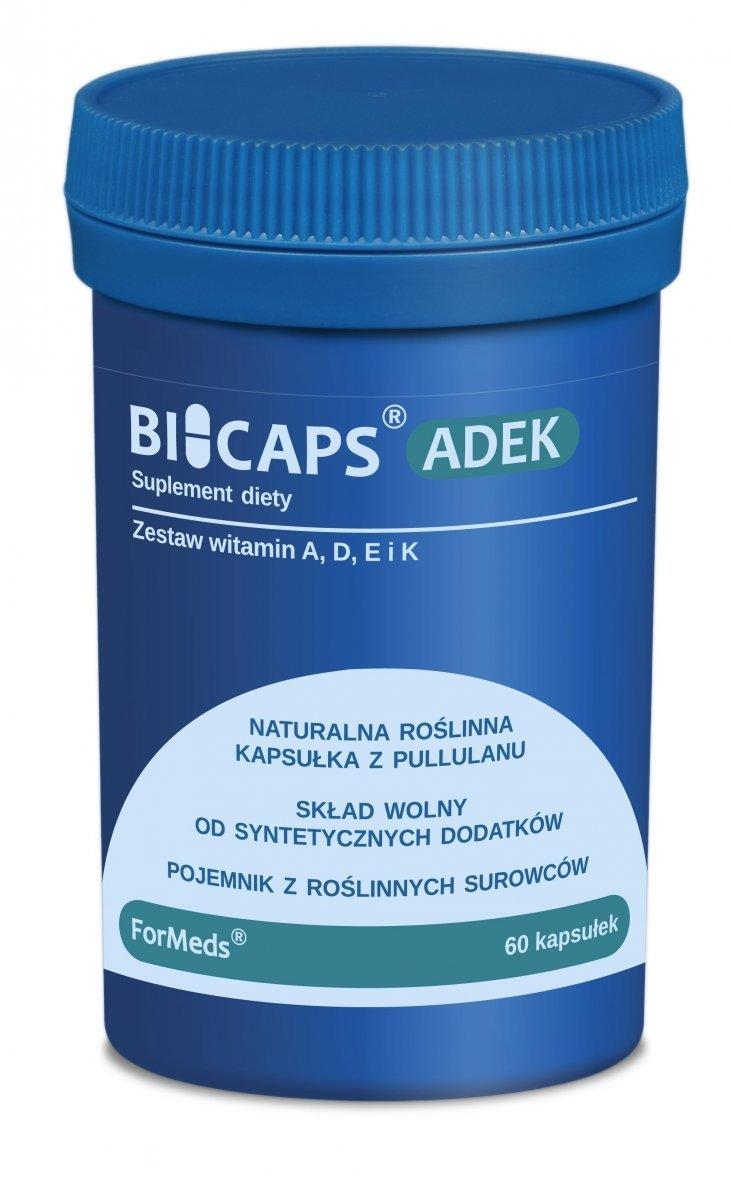ForMeds BICAPS Zestaw Witamin ADEK2 MK-7 60 kaps