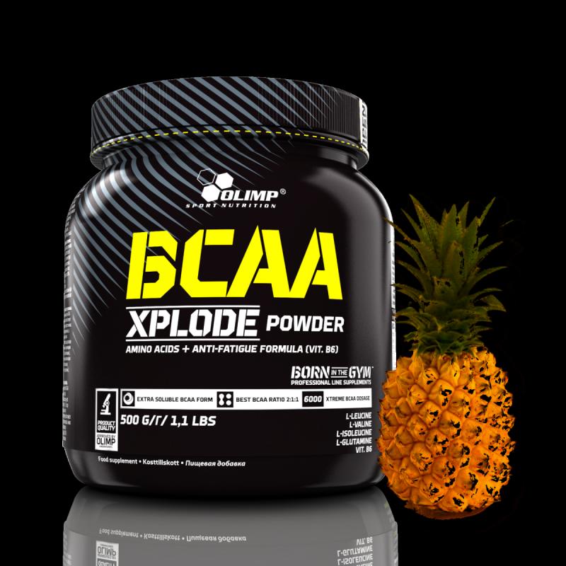 Olimp BCAA Xplode Powder 500g Aminokwasy smak ananas