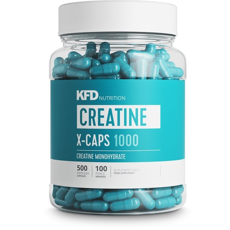 KFD Creatine X-CAPS 1000 - 500 kap.