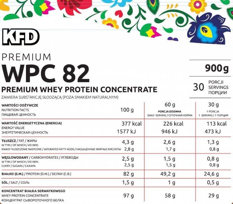 KFD Premium WPC 82 900 g