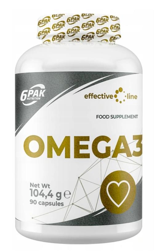 6Pak kwasy Omega 3 90 kapsułek