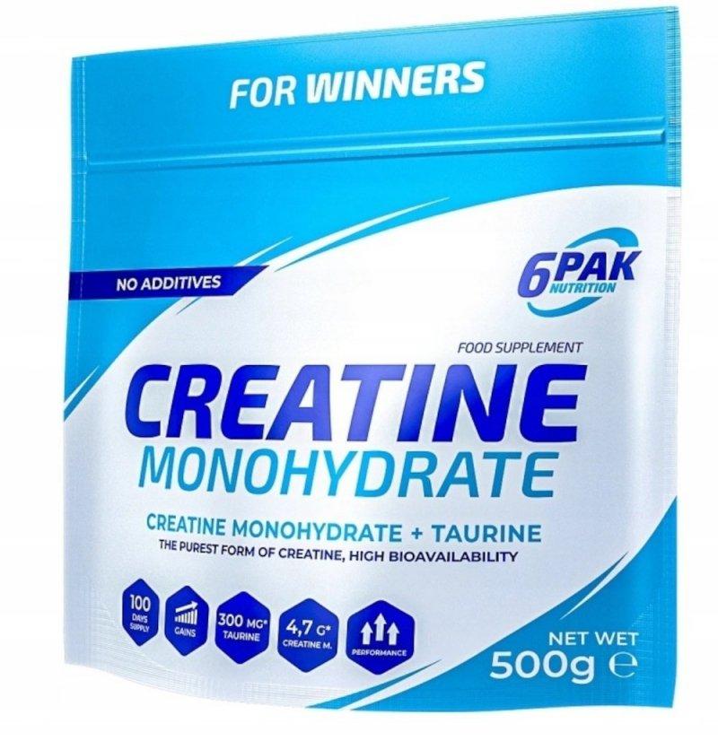 Kreatyna 6PAK Creatine Monohydrate 500g
