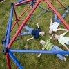 Kopuła do wspinaczki na plac zabaw GEODOME 101301