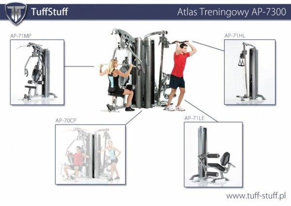TUFF STUFF ATLAS TRENINGOWY AP-7300