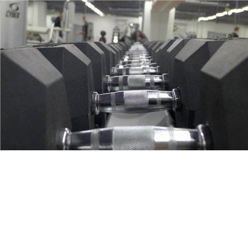 ARS ZESTAW HANTLI CHROM/PLASTIK (12,5-25KG) 6 PAR