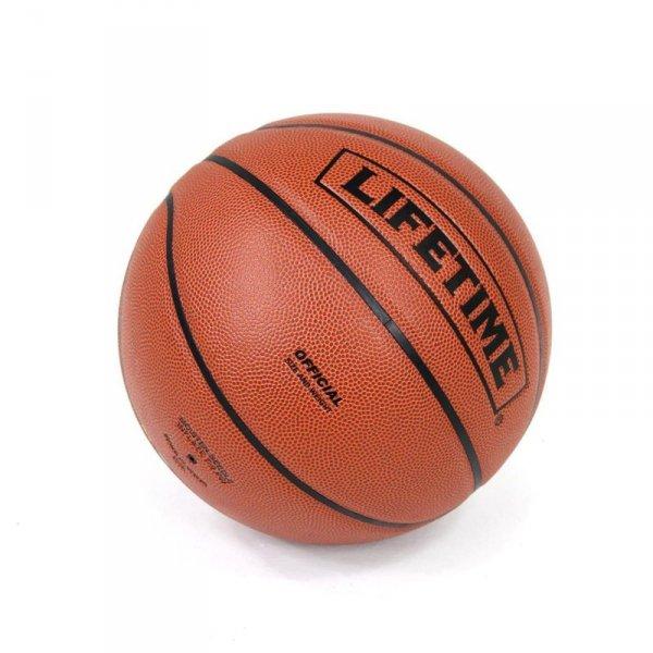 Piłka do koszykówki ze skóry LIFETIME 1052936